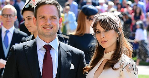 Suits Star Patrick J Adams And Troian Bellisario Are