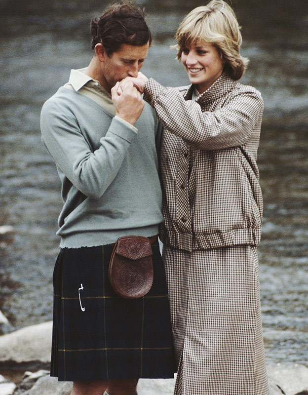 Charles and Diana in happier times.