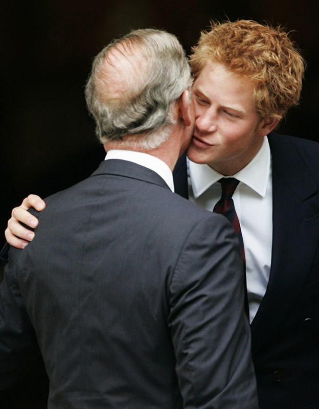 In fact, a kiss between loved ones is a language the royals love speaking.