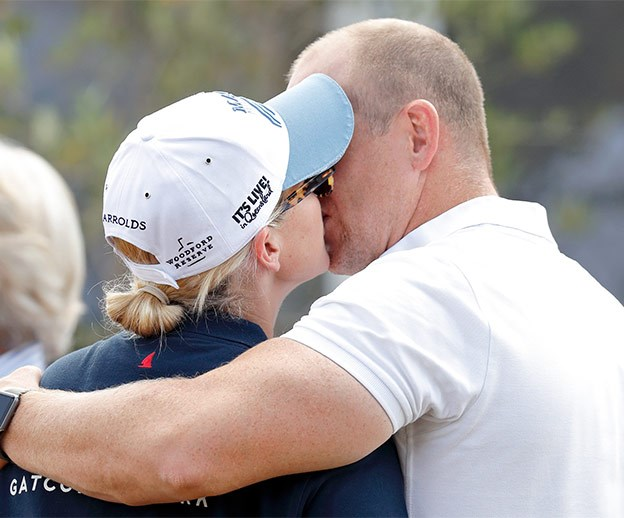 Mike Tindall swoons over his princess.