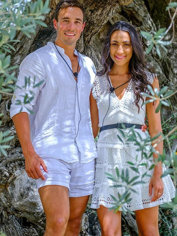 Grant and Tayla won the heart's of Australians watching their love story from home.