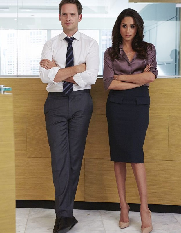 Meghan was beloved on *Suits* as Rachel Zane.