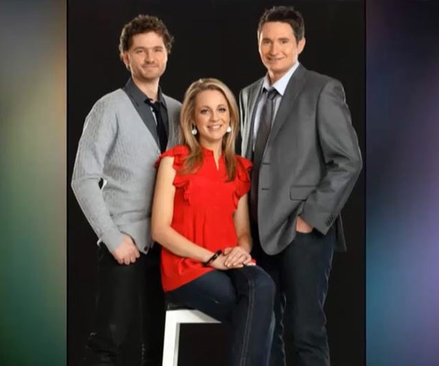 The original *Project* line-up: Charlie Pickering, Carrie Bickmore and Dave Hughes.