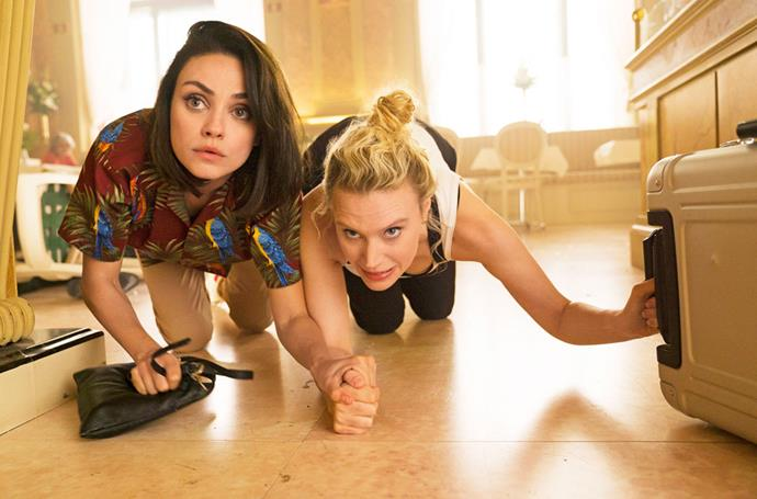 Mila and Kate were fans of improvising during filming.