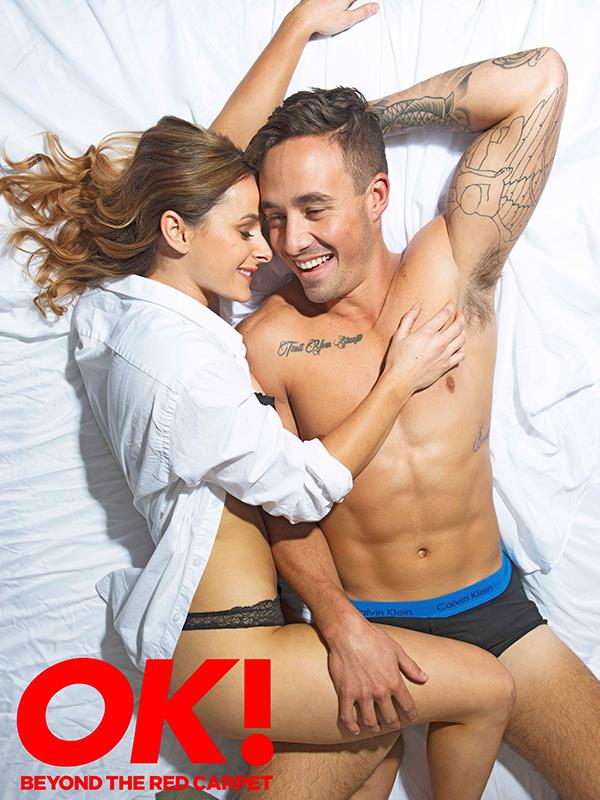 Woah! Grant and Lucy showed some serious chemistry at their shoot with *OK!*.