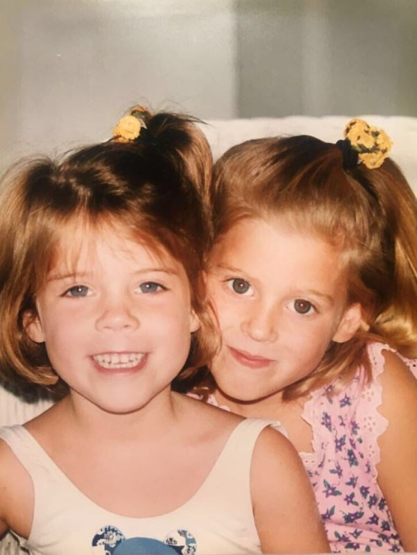 Duchess Sarah shared a second adorable childhood snap of Princesses Beatrice and Eugenie.