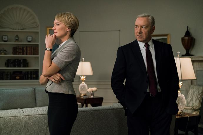 *House of Cards* to continue without Kevin Spacey in season six.