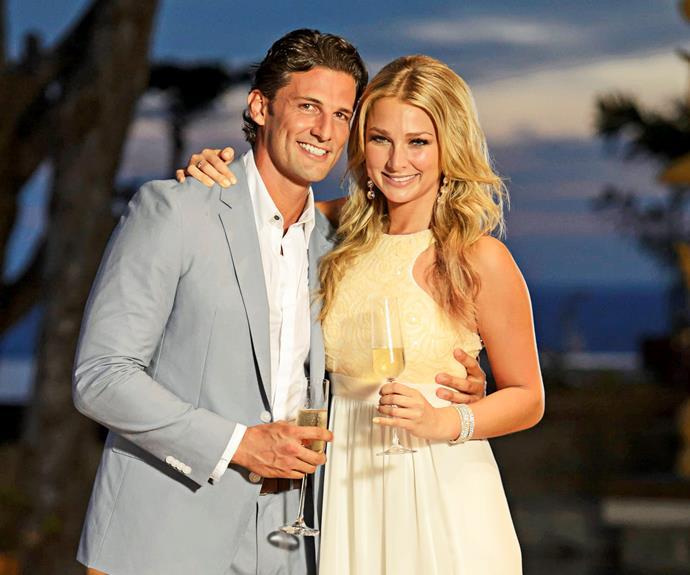 Tim and Anna on Australia's first season of *The Bachelor*.