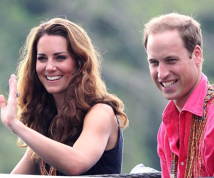 The last time Kate was in Mustique, back in 2015 during her pregnancy with Princess Charlotte.
