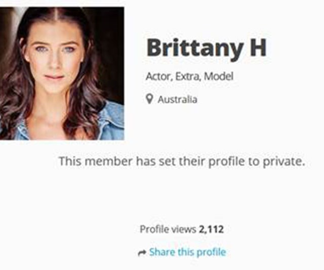 Britt is yet another actress on the series.