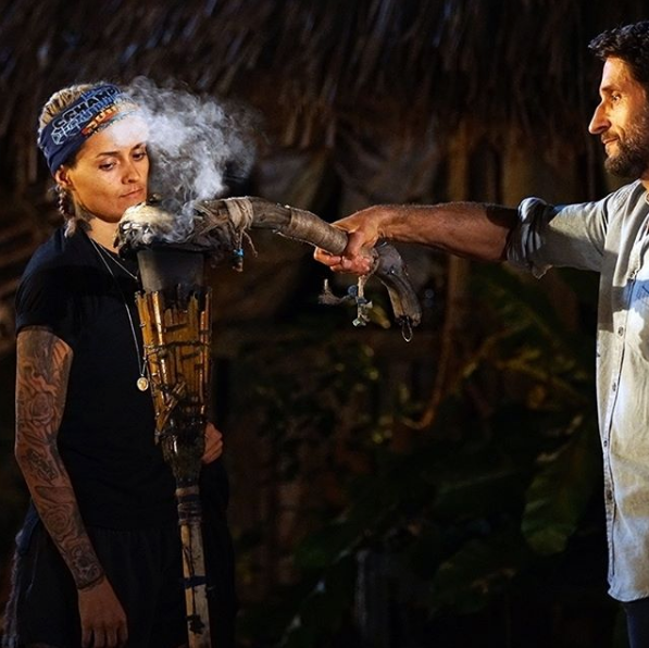 Moana is eliminated from *Australian Survivor,* after asking to leave.