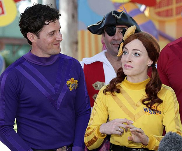 In the video below, Emma admits working with Lachy was instrumental in falling for her Purple Wiggle.