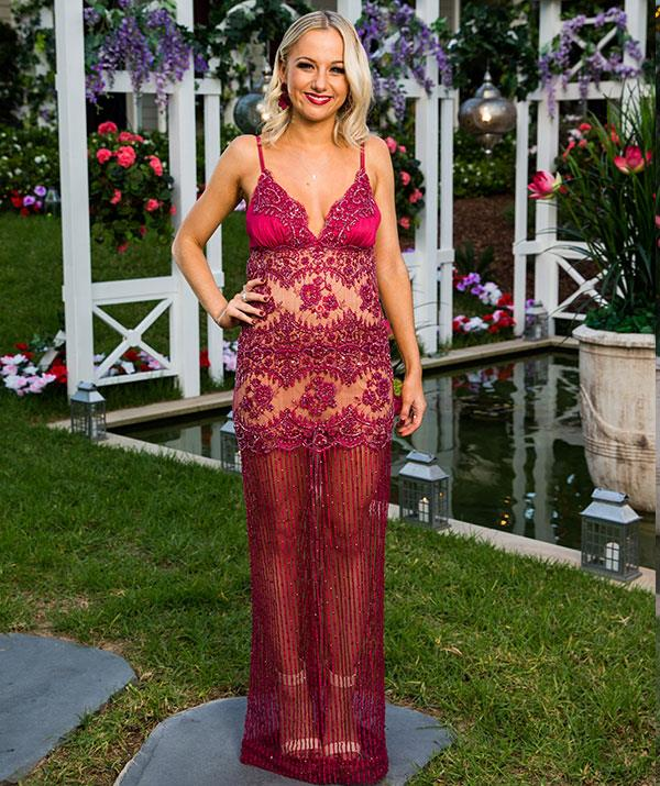**Christina, 23, QLD** Describes as a pocket rocket of energy, the 23-year-old retail manager is sure to bring some fun to the cocktail parties. She's looking for a man who is genuine and funny, but he also needs to be able to cook and clean.