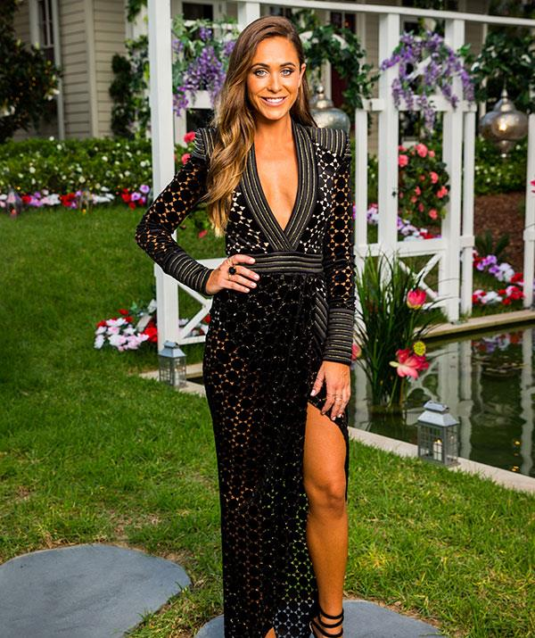 **Rhiannon, 28, QLD** Rhiannan is a sales representative with a dry sense of humour and love for sarcasm. She applied to the show because she is 'finally' ready to start looking for love.