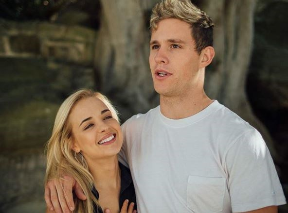 Raechelle's character Olivia had an on-off relationship with Hunter King (played by Scott Lee).
