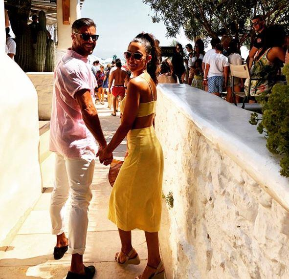 "The lovebirds had a quick European getaway and [their Instagrams gave us major wanderlust](https://www.nowtolove.com.au/celebrity/celeb-news/former-bachelor-sam-wood-snezana-markoski-europe-holiday-50617|target=""_blank""). *(Image: @snezanawood Instagram)*"