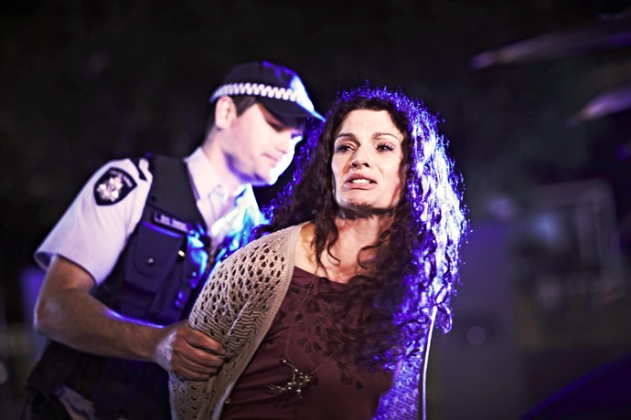 Bea (Danielle Cormack) has no idea what's in store for her when entering Wentworth Detention Centre.