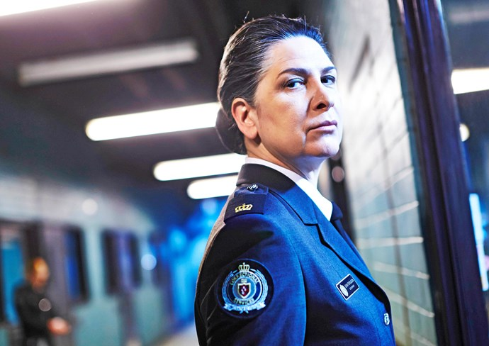 "Joan ""The Freak"" Ferguson (Pamela Rabe) is Wentworth's ultimate villain"