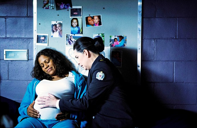 Doreen (Shareena Clanton) is one of few characters in *Wentworth* to be released and to never return.