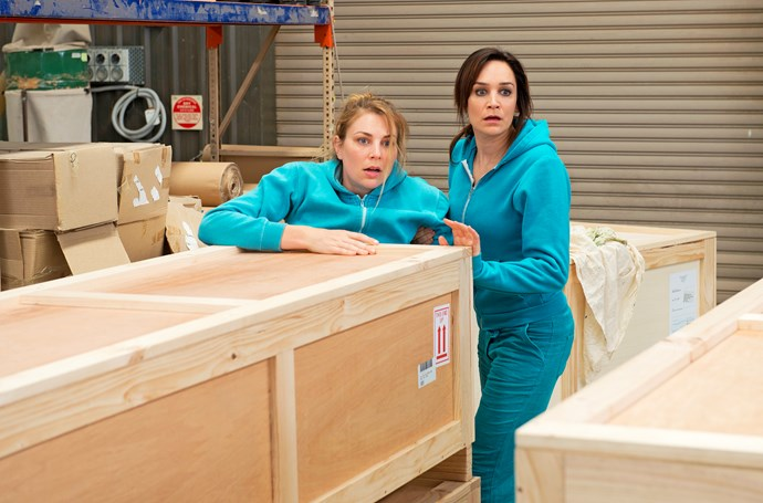 Allie (Kate Jenkinson) and Franky follow through with their escape plan.