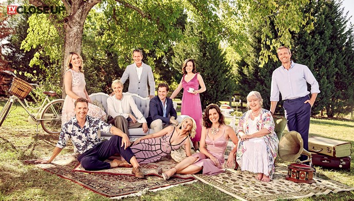 The cast of *A Place To Call Home*