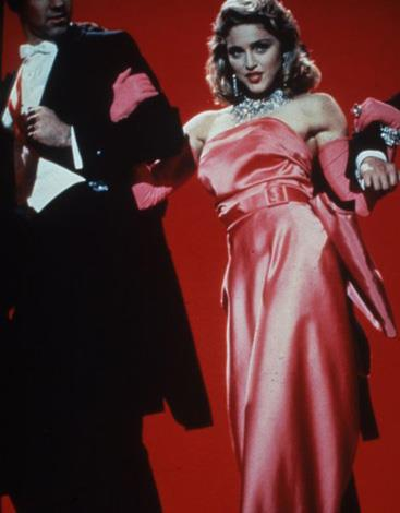 The songstress channeled Marilyn Monroe in her *Material Girl* music video.