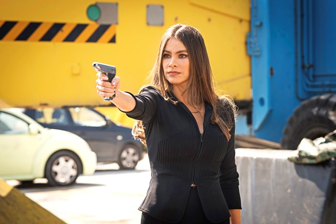 Sofia Vergara plays a federal agent in *Bent*.