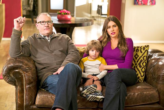 Sofia in her more recognisable role as Gloria on TV Series *Modern Family*.