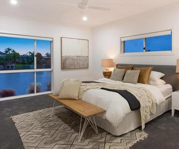 One of the four bedrooms in the new home. *Image: realestate.com.au*