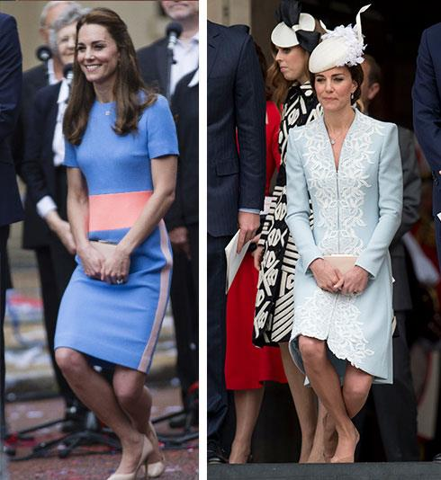 "The politics behind the curtsy: Duchess Catherine may one day be Queen, but according to *The Telegraph* in the UK, in 2012 the Queen updated the rules and Kate must curtsy to ""blood princesses"" including Princess Royal, Princess Alexandra, and the daughters of the Duke of York, Princesses Beatrice and Eugenie, who are below her in pecking order."