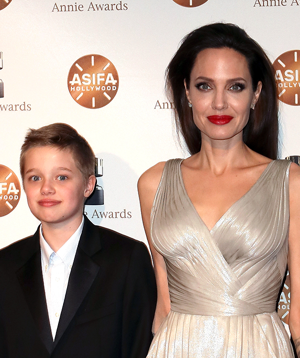 Angelina Jolie is worried about what her daughter Shiloh has to say.
