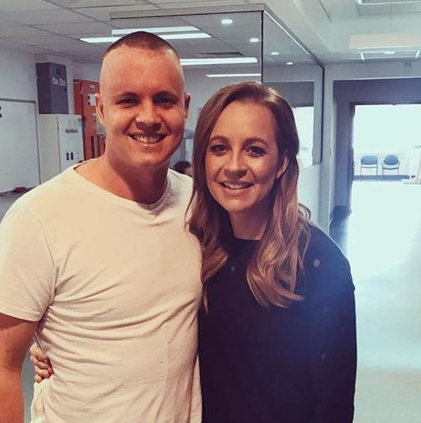 Johnny Ruffo was diagnosed with a brain tumour in August 2017 whereas Carrie Bickmore set up *Beanies for Brain Cancer* in honour of her husband who died from the disease in 2010.
