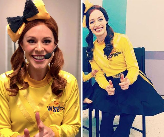 The ex-girlfriend and ex-wife: With her red hair and toothy smile, Mildura-born singer Brianne Turk (left) could easily be mistaken for Yellow Wiggle, Emma Watkins.