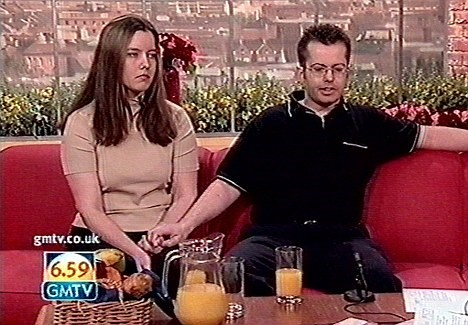 Martyn and Kay Tott on GMTV, had a winning lotto ticket and then lost it.