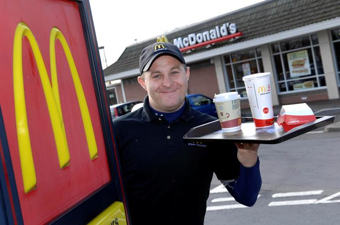 Luke Pittard returned to his McDonalds job after spending his winnings, but has no regrets.