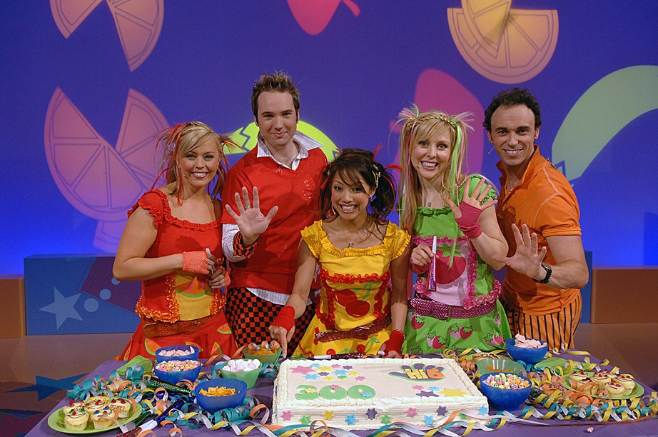 Charli, pictured here in green, was a fan favourite during her years as a Hi-5 member.
