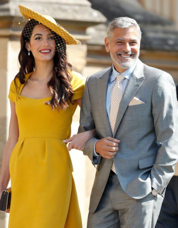 Like a holiday in Italy... WITH THE CLOONEYS.