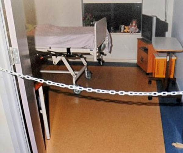 The room where Nan was attacked. **Photos exclusive to Take 5**