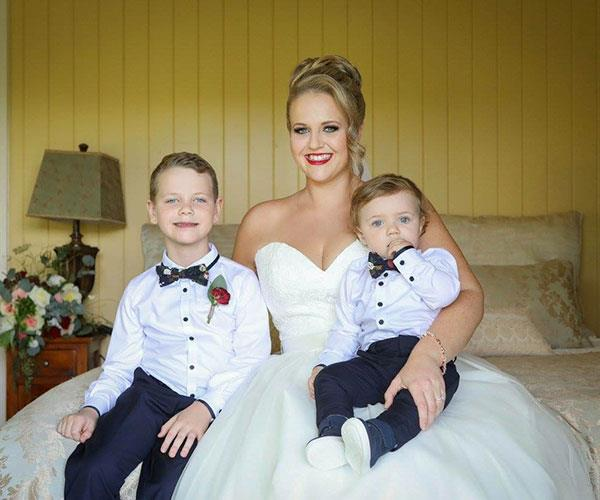 Happier than ever with my boys Oliver and Ari.  **Photos exclusive to Take 5**