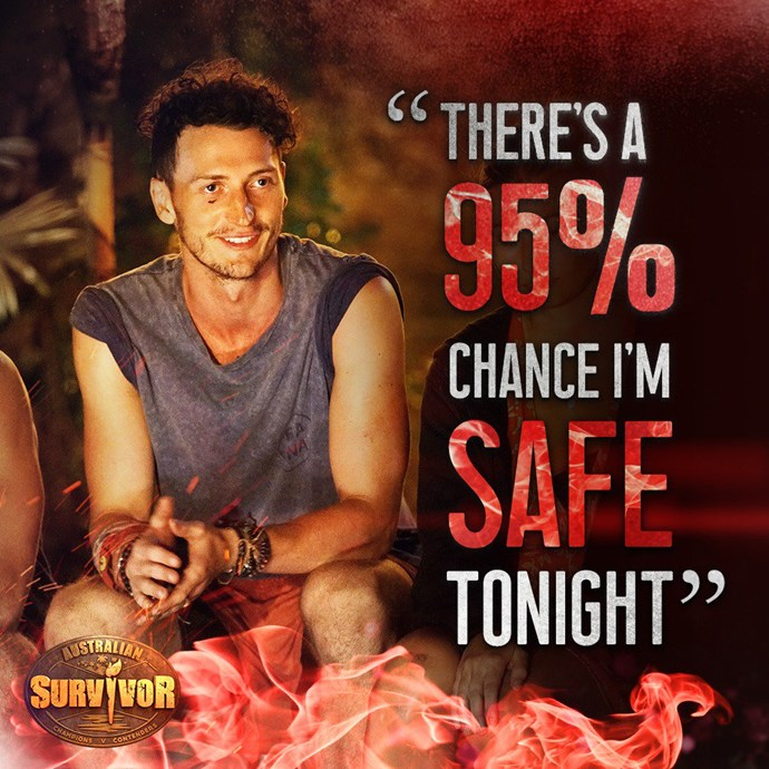 Survivor Australia's Benji is determined to oust out Paige and employs clever tactics to ensure his safety