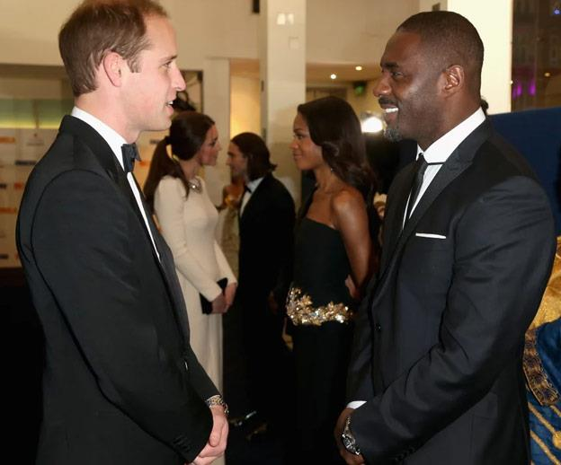 The actor works closely with the royals through their charity The Prince's Trust.