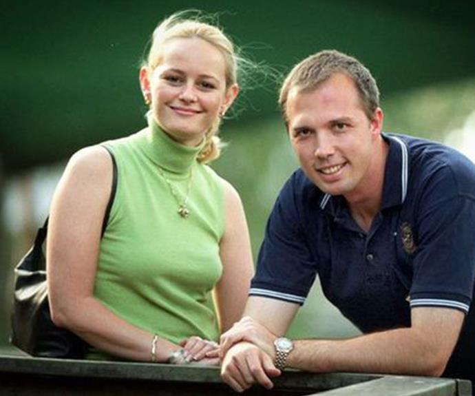 Peter and Kirilly in a 2001 election campaign, before they were married.