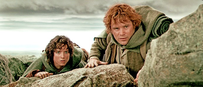 A scene from *The Lord Of The Rings*.