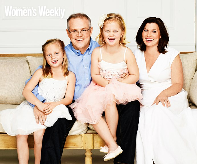 "After a decade of failed fertility treatments, Scott and Jenny Morrison say their daughters, Abigail and Lily are ""Gods plan""."