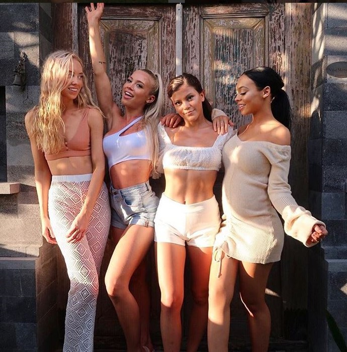 (From left to right) Amy Hembrow, Tammy Hembrow, Starlette Hembrow and Emilee Hembrow  *Image credit: Instagram*