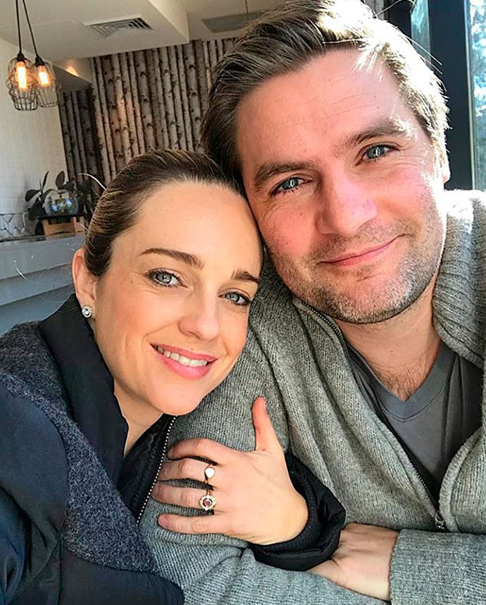 Penny with husband Matt.