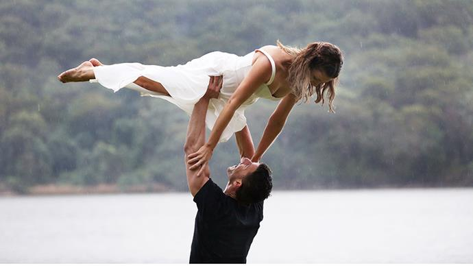 When they did the *Dirty Dancing* lift, all of us watching at home swooned.