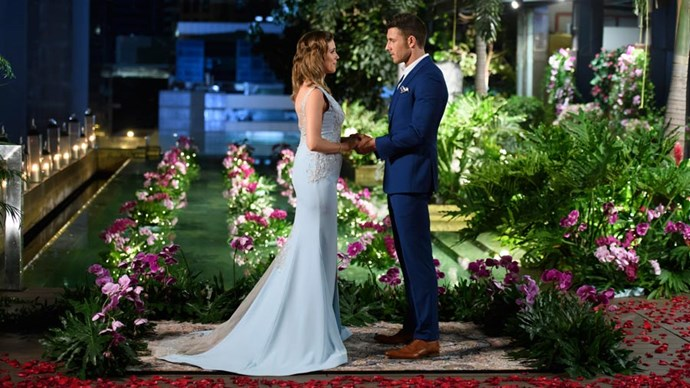 The fairytale comes true: Georgia and Lee declared their love for one another in the series finale of *The Bachelorette*.