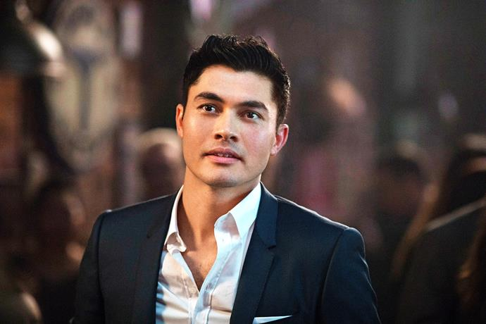Henry Golding as Nick.