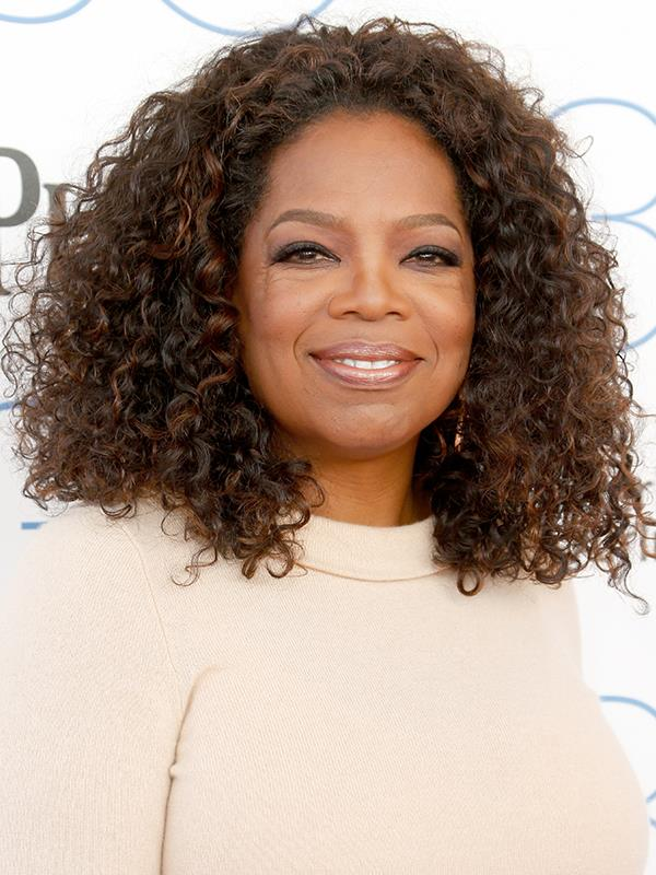 Oprah has embraced ageing naturally and she truly glows!